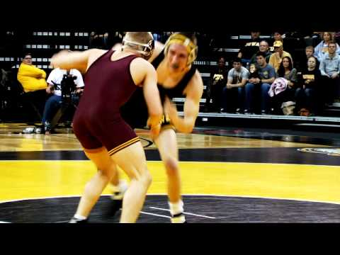 Minnesota vs Iowa Highlights 2012 Wrestling