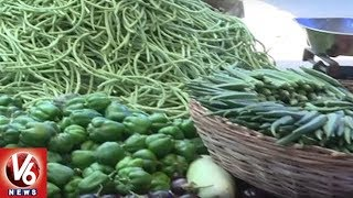 People In Concern With Vegetables Price Hike In Hyderabad