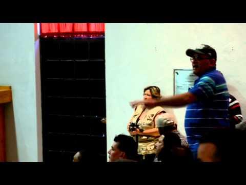 Enrique Hernández, enfrenta al presidente de Yurécuaro en su 3er informe de gobierno.