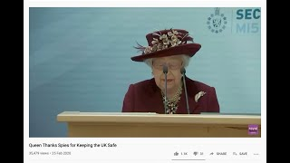Queen of England thanks perps for GANGSTALKING TARGETED INDIVIDUALS