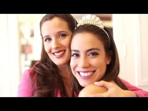 RETO Dorn y Niní: Maquillaje sin espejo jejeje