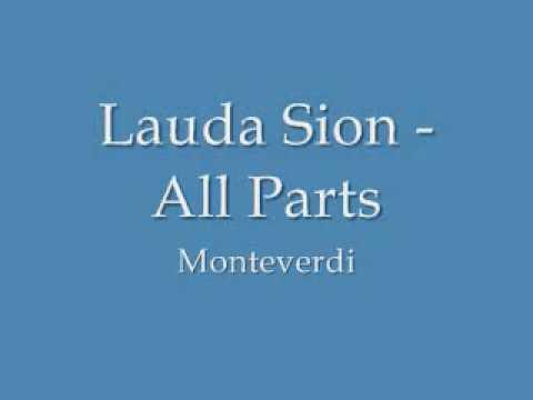 Монтеверди Клаудио - Lauda Sion Salvatorem