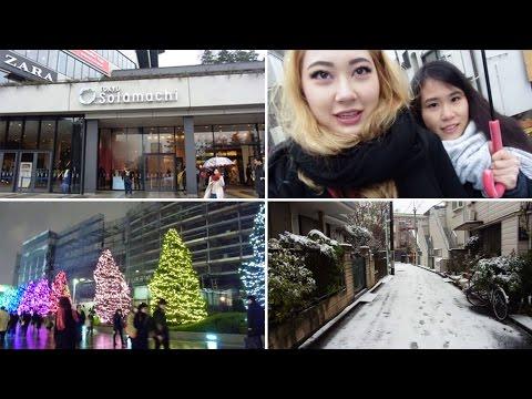 Japan Trip 2014: SNOWING AT TOKYO SKYTREE