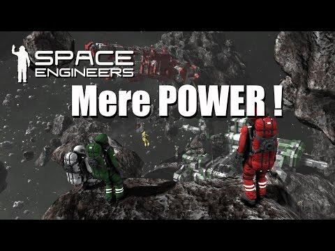 Space Engineers Easy survival EP 12   Mere Power !