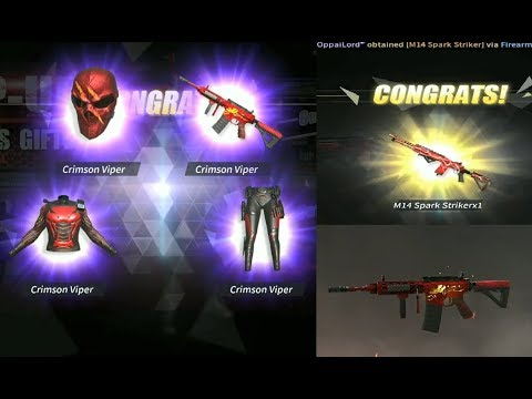 rules of survival new spark striker m14 ebr animated skin an