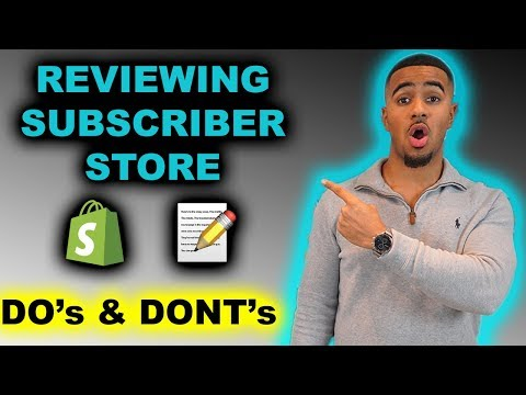 Shopify Store Review | Simple Fixes To Make 6 Figures Dropshipping