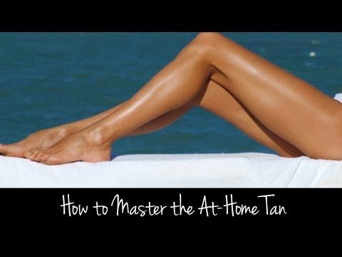 Learn to Apply Self Tanner Without Looking Orange or Streaky | Tutorial