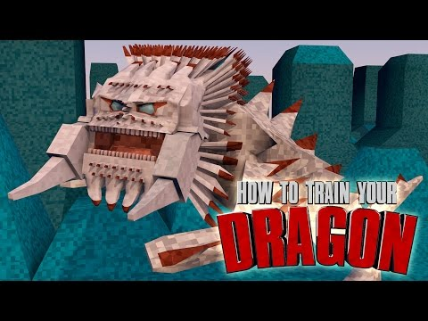Minecraft | How To Train Your Dragon Ep 14! raiding A Viking Town video