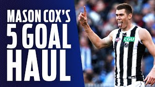 Cox bags five goals on Queens Birthday | Showreel | Round 12, 2018 | AFL