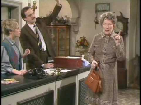Fawlty Towers --- Communication Problems