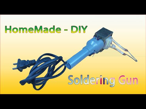 [Tutorial] Homemade DIY - How To Make Soldering Gun From transformers
