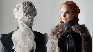 Game of Thrones Season 7 Hairstyles Tutorial! - KayleyMelissa