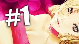 CHEATING ON GIRLFRIEND? -- Catherine -- Part 1 / Walkthrough / Playthrough / Gameplay