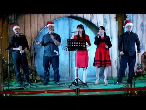 Carol Of The Bells - Pentatonix Cover | kasuari | LIVE