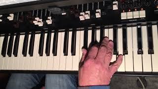 Stop Draggin' My Heart Around, Tom Petty, Stevie Nicks organ tutorial