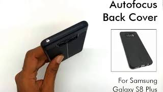 Auto Focus Back Cover for Galaxy S8 Plus