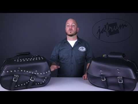 SD4068 Motorcycle Saddlebags Review at Jafrum.com