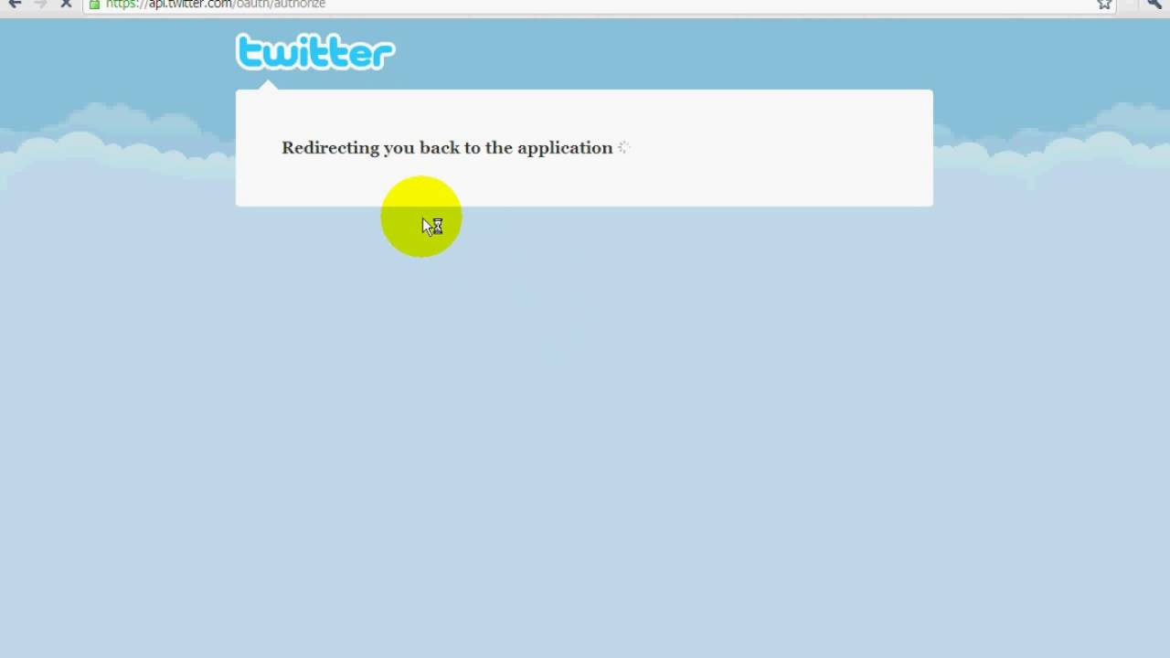 how to use the twitter account