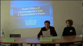 Ph Olle Johansson 23 11 2013 Barcelona -1 de 7-Health Effects of EMF:A Neurocientist's Views.