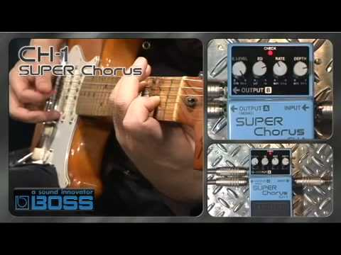 CH-1 SUPER Chorus [BOSS Sound Check]