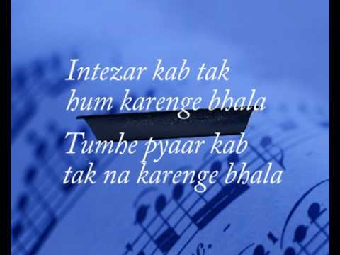 Zindagi do pal ki ( KITES ) - with lyrics