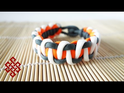 How to Make the Advanced Solomon Bar Paracord Bracelet Tutorial