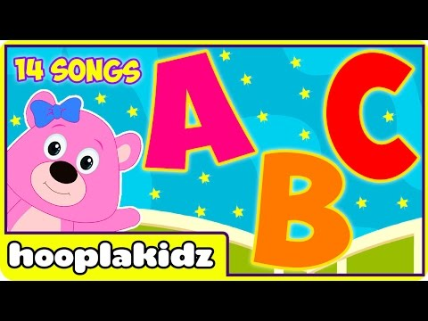 ABC Songs | ABC Songs for Children | 14 ABC Alphabet Songs Collection | Learn ABC with HooplaKidz