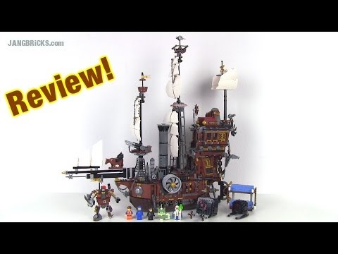 LEGO Movie Metalbeard's Sea Cow 70810 set Review!