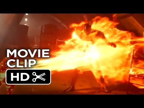 X-Men: Days of Future Past Official Movie Clip #1 - Battle (2014) - Ellen Page Movie HD