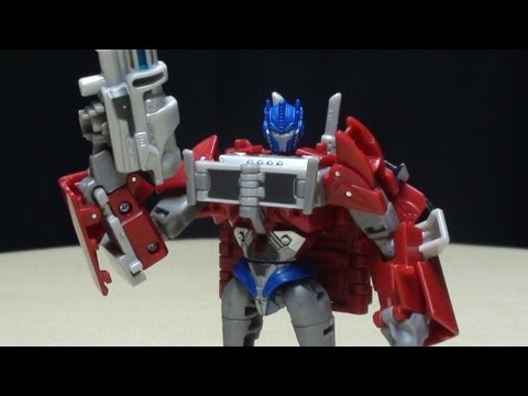 SDCC Exclusive Transformers Prime Deluxe OPTIMUS PRIME: EmGo's Transformers Reviews N' Stuff