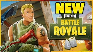 Let's Play FORTNITE Episode 1! New BATTLE ROYALE Game!