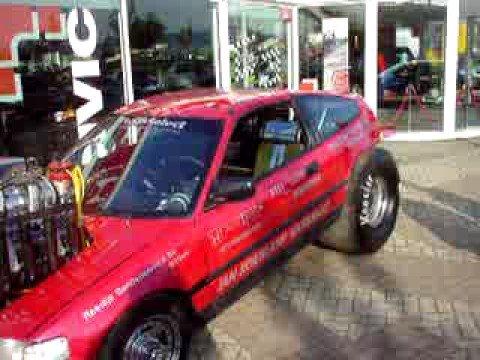 Honda civic whit engine v8 youtube for V8 honda civic