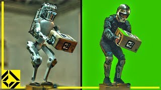 Boston Dynamics Fake Robot: VFX Before & After Reveal