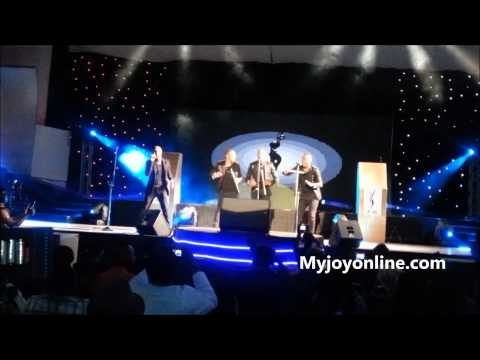 South African group - performing at the 2013 AMAAs