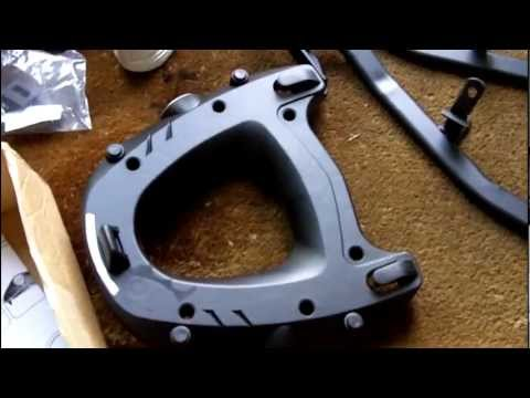 Fitting A Givi Monorack And M5 Monokey Plate To My Youtube