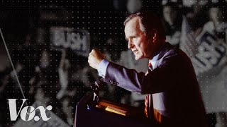 George H.W. Bush's broken promise that changed the Republican Party