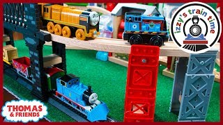 Thomas and Friends Bachmann Wooden Hybrid Track! Fun Toy Trains for Kids!