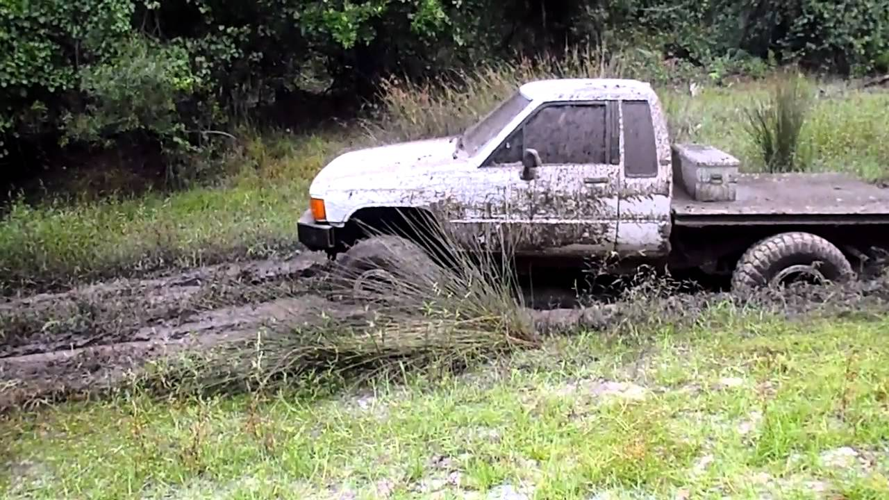 Flat bed 86 toyota in the mudd youtube