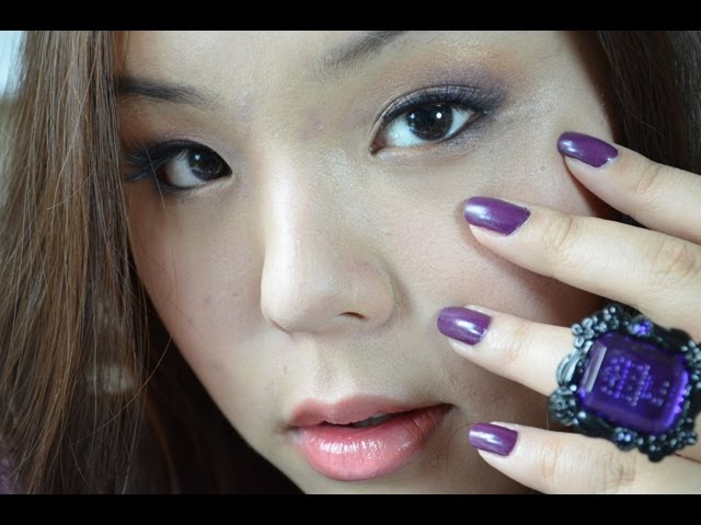 Anna Sui Inspired Autumn Fall Makeup Tutorial