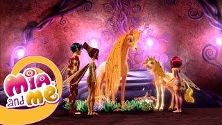 Earth Unicorn saving the other unicorns - Mia and me