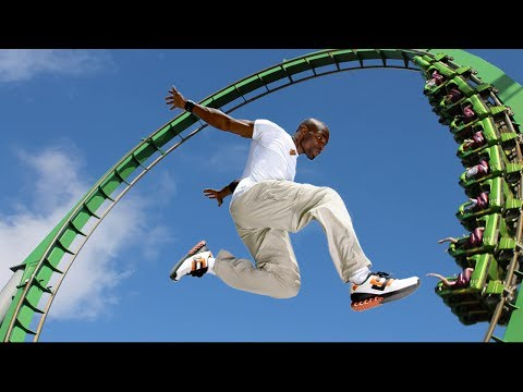Parkour at the Theme Park! (Parkour and Freerunning)