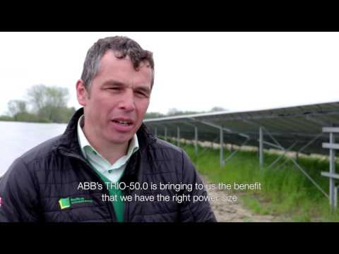 The TRIO-50.0 at Vine Farm solar park – an ABB solar inverters case study
