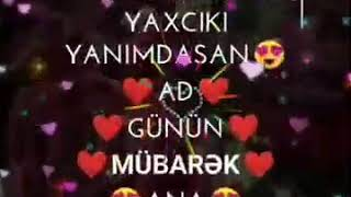 Ad Gunun Mubarek Canim Anam Mp3 Yuklə
