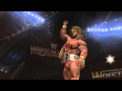 WWE Legends of Wrestlemania - Rewrite - Ultimate Warrior vs. Rick Rude
