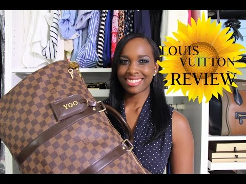 LOUIS VUITTON Damier Ebene Keepall 50 Review