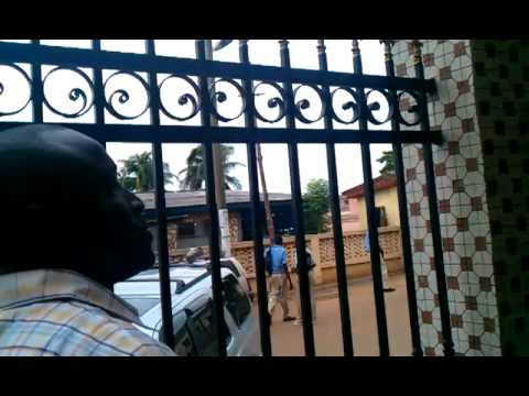 Pas. Eben Quaye at the Church of Pentecost Head Office Ghana Part 5