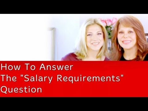how to respond to salary requirements