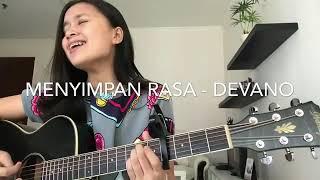 Bikin BAPERR😂 Menyimpan Rasa - Devano [Short cover by Chintya Gabriella]