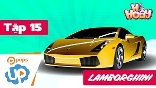 🖍 Drawing and colouring car Lamborghini 🎉 SUPER FAST 🎉 |Coloring pages for kids |Hí Hoáy - EP 15