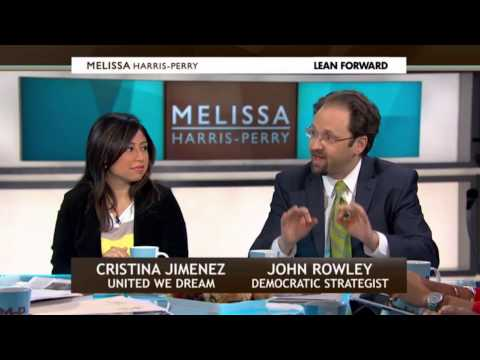 John Rowley on Melissa Harris-Perry - Immigration - 2/01/2013